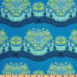 Amy Butler Lark Dreamer Nanna Chic Cloud Blue - Discount
