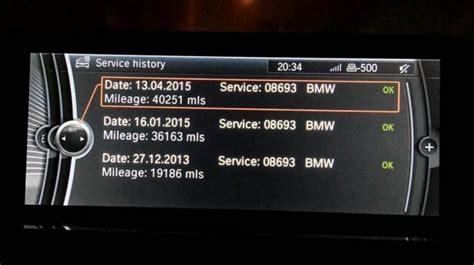 Idrive Service History