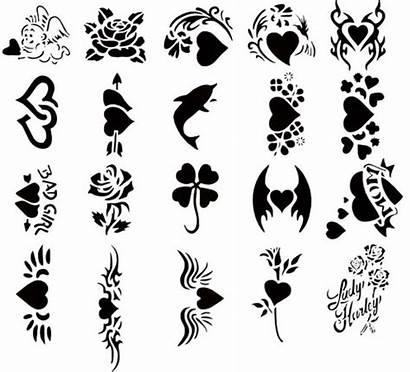 Tattoo Clip Designs Clipart Tattoos Stencils Clipartix
