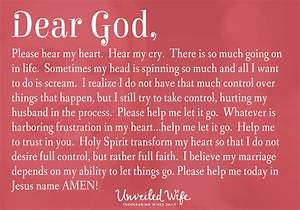 Quotes About Letting God Take Control  Quotesgram