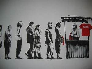 19 Inspiring Banksy Artworks that are Famous - nenuno creative