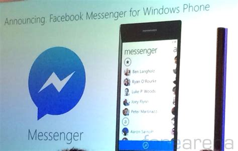 messenger for windows phone coming soon