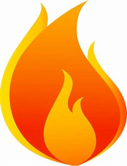 Cartoon Clipart Flames Flame Fire Shape Transparent