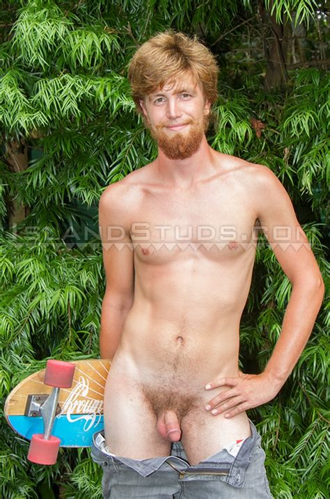 islandstuds skater kiefer sexy bearded butt stroking huge straight dick big skateboard skater