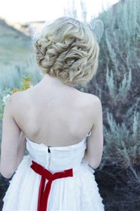 wedding hair styles  short hair hairstyles