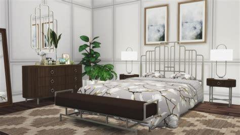 simsational designs ophelia bedroom suite sims  downloads