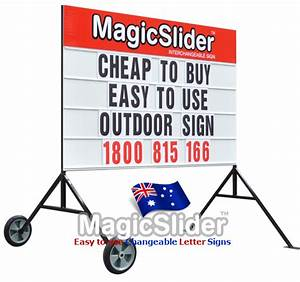 signs changeable signs australia wide With advertising signs with changeable letters