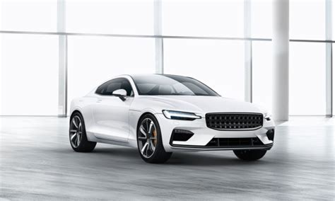 volvos electric car brand polestar unveils  model