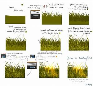 Very easy grass tutorial by ryky on DeviantArt