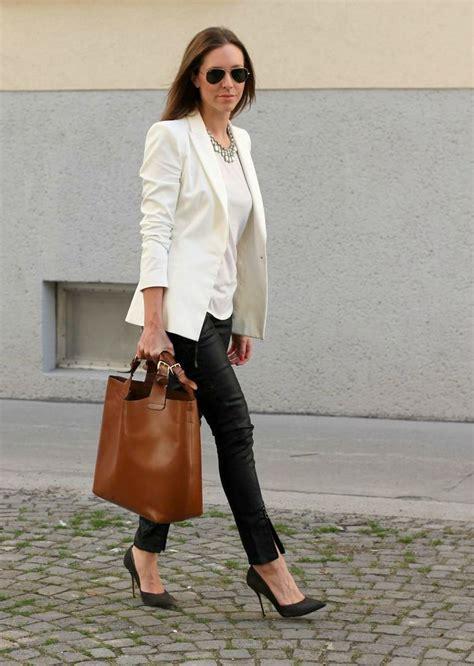 How to wear de witte blazer | lunefashion
