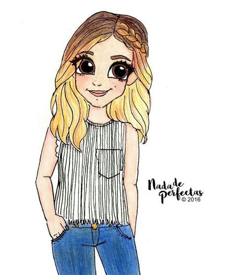 dibujo  chicas lapiz images  pinterest