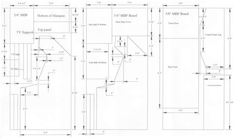 mame arcade cabinet plans woodwork plans for mame cabinet pdf plans