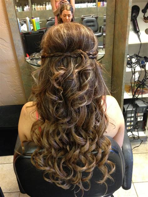 half up updo with extensions my work prom hair hair