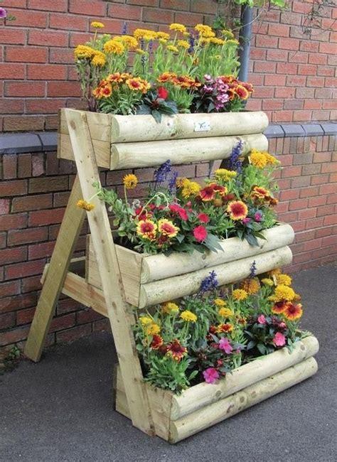 amazing wooden planters   love     yard