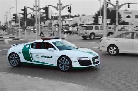 top  ludicrous supercars  dubai police fleet