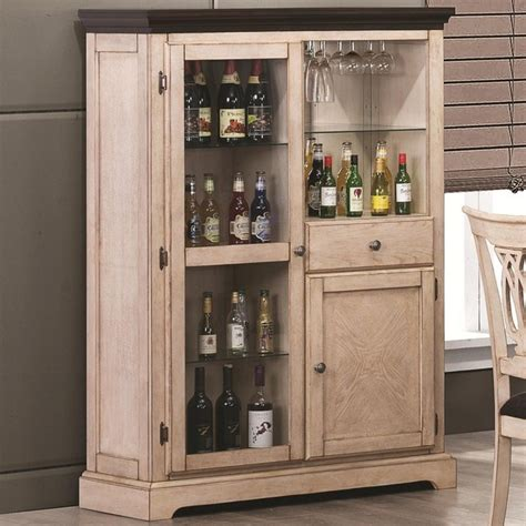 wine and bar cabinet transitional white bar curio cabinet traditional wine
