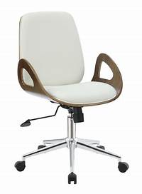 white wood desk chair White Wood Office Chair - Steal-A-Sofa Furniture Outlet ...