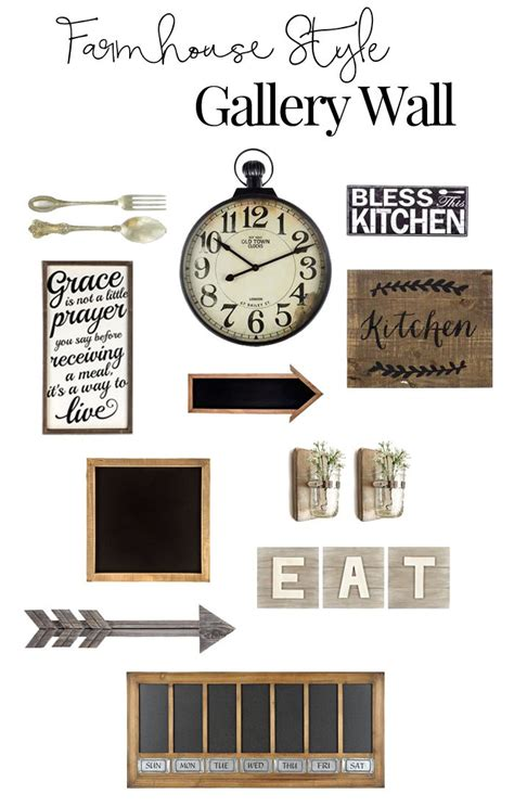 kitchen gallery wall rustic gallery wall inspiration for the kitchen