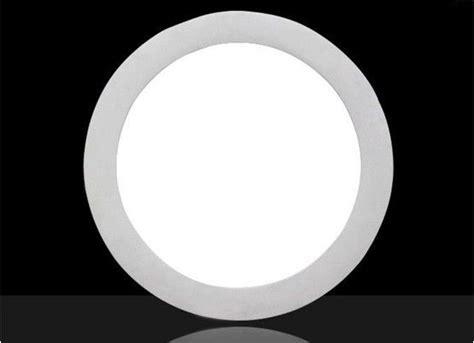 Smd 2835 18w Round Led Flat Panel Light 6500k Cold White
