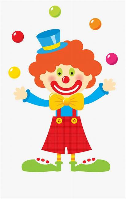 Clown Clipart Carnival Circus Juggling Transparent Cartoon