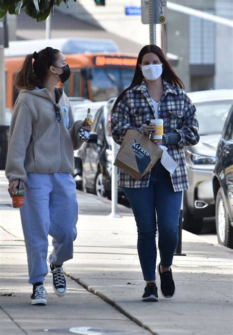 Alfred coffee studio city is a great little sunday morning stop. Lana Del Rey - Steps out for coffee with a friend at Alfred Coffee in Studio City | GotCeleb