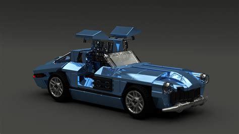Lego Muscle Cars Américaines By Garryrocks Brickmafia