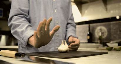 Cut Chinese Garlic Hand Skills Knife Got