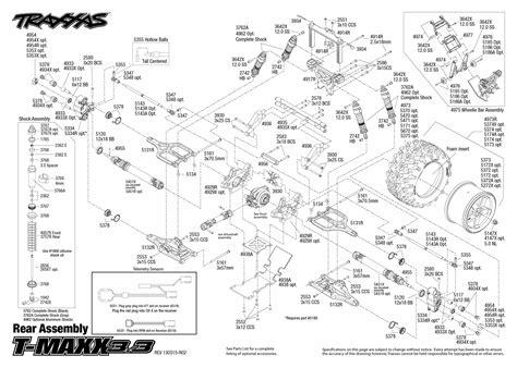 Traxxa T Maxx Steering Diagram by Traxxas 1 10 Scale T Maxx 3 3 4wd Truck 4907