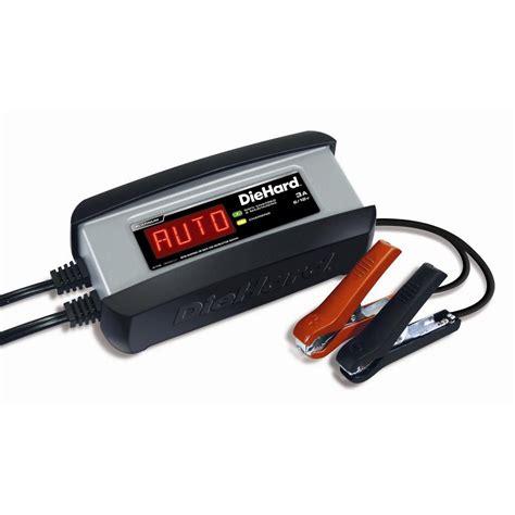Diehard Platinum 6v12v Battery Charger And Maintainer