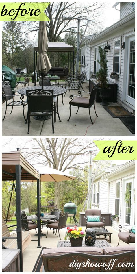 Patio Makeoverdiy Show Off ™  Diy Decorating And Home. Patio Set Teak. Patio Swing Modern. Diy Patio Out Of Pavers. Covered Patio Add Value. Patio Deck Cost. Patio Bar Key West. Patio Stone Kitchener Waterloo. Quikrete Patio Paver Jointing Sand Lowes