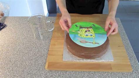 sweets   sweet spongebob kuchen mit
