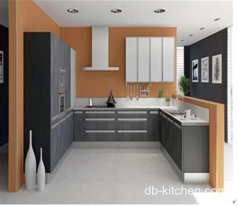 melamine faced practical small kitchen cabinet color