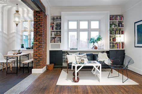 delightful design   studio flat scandinavian style