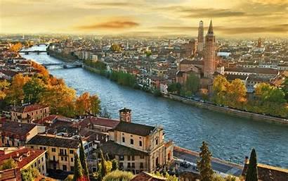 Italy Verona Landscape River Adige Eye Wallpapers13