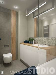 Waschtisch Weiß Holz : bad waschtisch wei mit holz wandfliesen in beige holzoptik grau und mosaik aus naturstein ~ Sanjose-hotels-ca.com Haus und Dekorationen