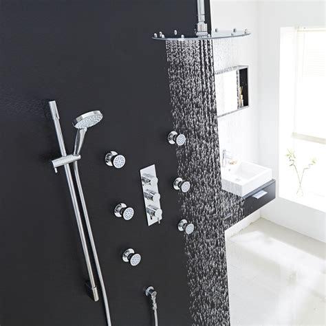 shower system rubbed bronze ceiling shower set shower jets