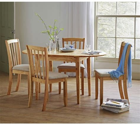 Buy Collection Banbury Extendable Table & 4 Chairs  Cream