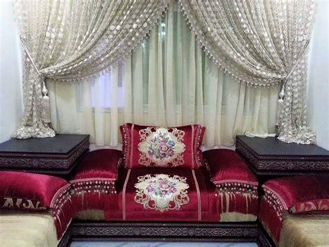 nouveaux design de coussins salon marocain  deco