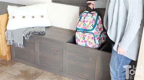 backpack storage bench plans  tool belt