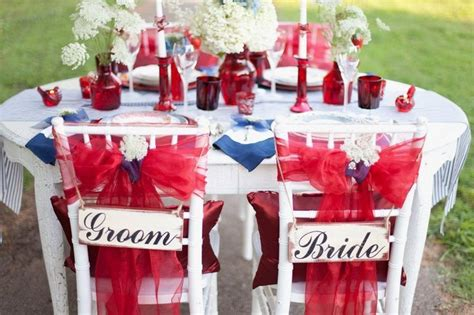 red white and blue wedding ideas celebrate your wedding