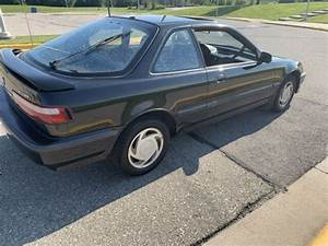 1991 Acura Integra Ls Special Coupe Black 5 Speed Original
