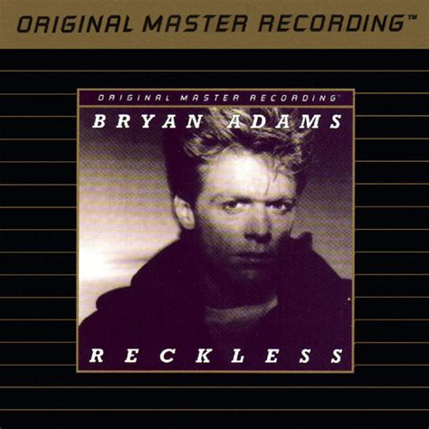 Bryan Adams  Reckless (cd, Album) At Discogs