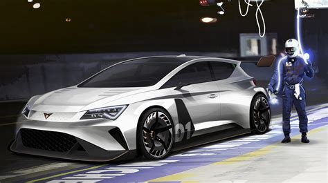 Elã Ctric by Geneva 2018 Seat To Go Electric Racing With Cupra E Racer