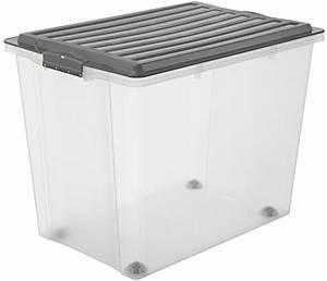Kunststoffkiste Mit Deckel : rotho 1164908812 roll box compact mit deckel und 4 stabilen rollen aufbewahrungsbox aus ~ A.2002-acura-tl-radio.info Haus und Dekorationen