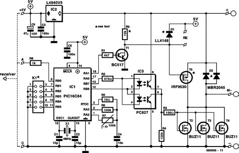 circuits composed  hs hs channels remote control hshs switch circuit diagram