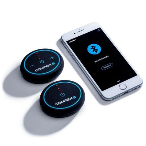 Compex Mini Portable Wireless Muscle Stimulator + Tens
