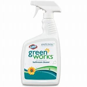 clorox green works natural bathroom cleaner clo 00452 With greenworks bathroom cleaner