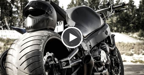 240hp Supercharged Motorcycle Drifting Awesomeness
