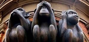 Statue Singe De La Sagesse : les trois singes de la sagesse le blogue du chibouki frustr ~ Teatrodelosmanantiales.com Idées de Décoration