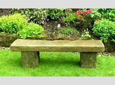 Stone Seats and Benches in the Garden
